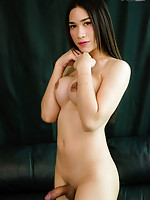 Patty is a gorgeous young tgirl with an amazing body, big round tits, a sexy bubble butt and a large uncut cock! Enjoy horny Patty stripping and stroking her hard cock for you!